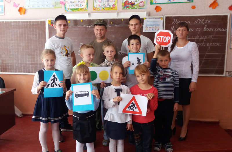 Поліцейські Мирнограду провели для школярів міста заняття із закріплення ПДР, фото-7