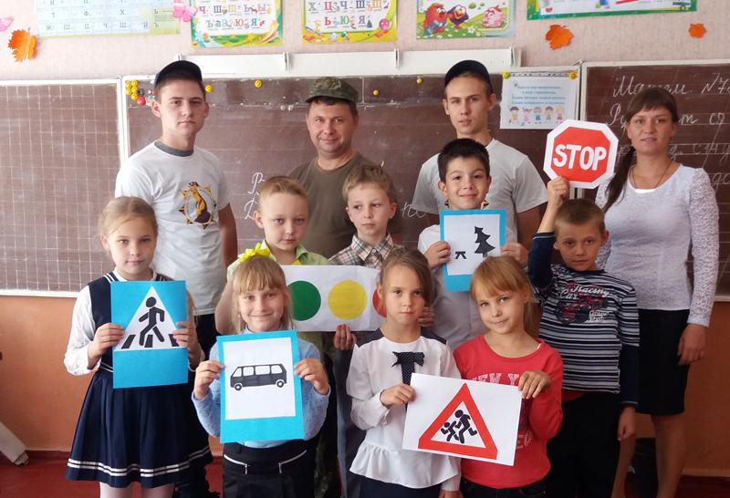 Поліцейські Мирнограду провели для школярів міста заняття із закріплення ПДР, фото-1