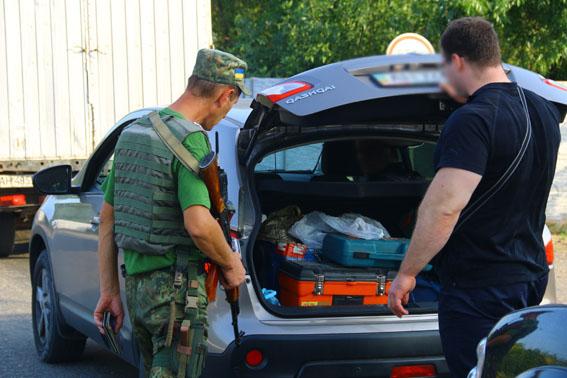Близько 90 правопорушень припинили поліцейські Донеччини за тиждень завдяки перевіркам на блокпостах, фото-1