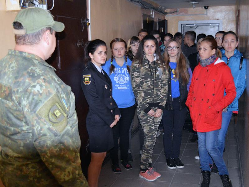 Покровские лиговцы на выходных гостили у своих наставников-правоохранителей, фото-7