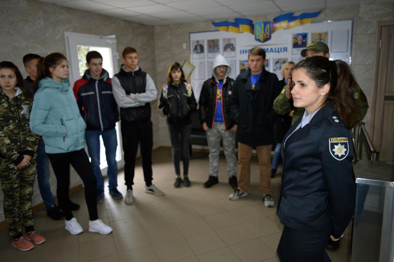 Покровские лиговцы на выходных гостили у своих наставников-правоохранителей, фото-2