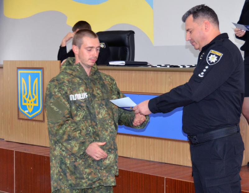 У Покровську поліцейські отримали спеціальні звання, фото-10