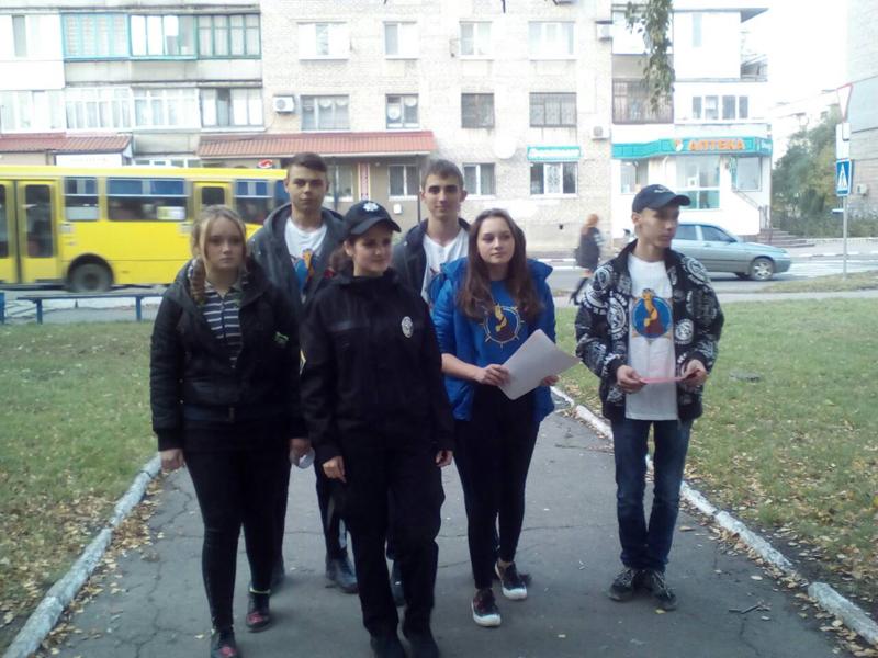 Правоохоронці та учасники «Ліги майбутніх поліцейських» застерегли мешканців Покровська від шахрайських тенет, фото-2