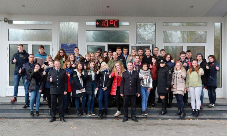 Канікули з поліцейськими: у ГУНП в Донецькій області приймали 40 старшокласників з Покровська, фото-1