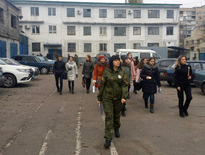 Покровський відділ поліції відвідали юні гості, фото-5