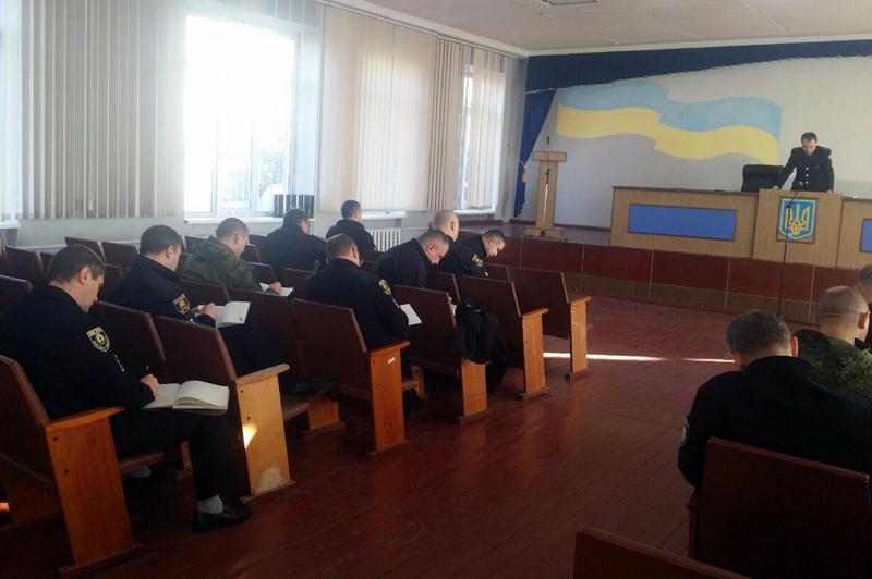 В Покровске прошли занятия по служебной подготовке для руководителей полиции Донетчины , фото-1