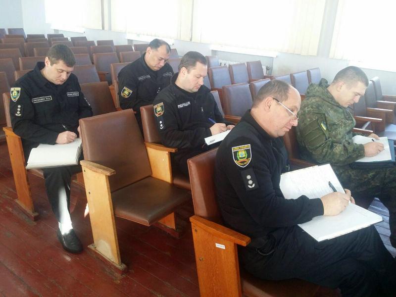 В Покровске прошли занятия по служебной подготовке для руководителей полиции Донетчины , фото-4
