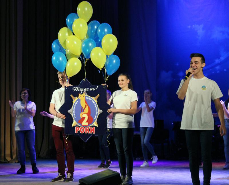 «Майбутні поліцейські» Покровської оперативної зони взяли участь у святкуванні другої річниці створення молодіжної організації, фото-3
