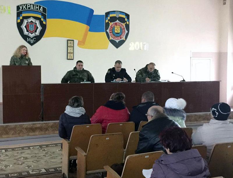 Руководство полиции Доброполья совместно с руководителями комитетов самоорганизации населения наметили пути сотрудничества, фото-3