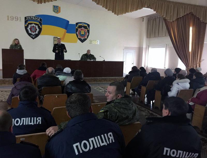 Руководство полиции Доброполья совместно с руководителями комитетов самоорганизации населения наметили пути сотрудничества, фото-6