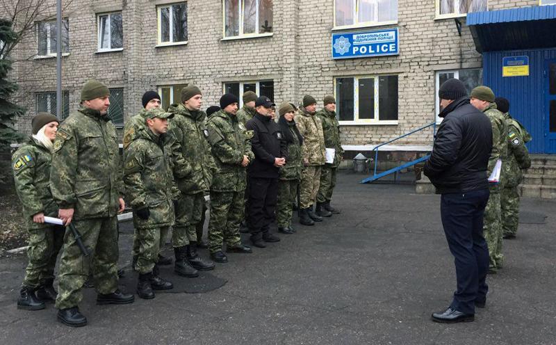 Поліцейські Добропілля, які охоронятимуть спокій громадян у вихідні, публічно заступили на службу, фото-1