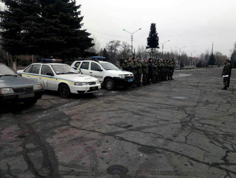 Поліцейські Добропілля, які охоронятимуть спокій громадян у вихідні, публічно заступили на службу, фото-7