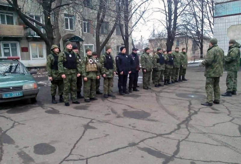 Поліцейські Добропілля, які охоронятимуть спокій громадян у вихідні, публічно заступили на службу, фото-11