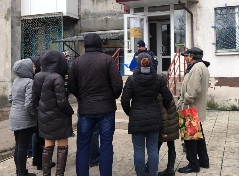 Співробітники Добропільського відділення поліції познайомили місцевих мешканців із проектом «Безпечний будинок», фото-2