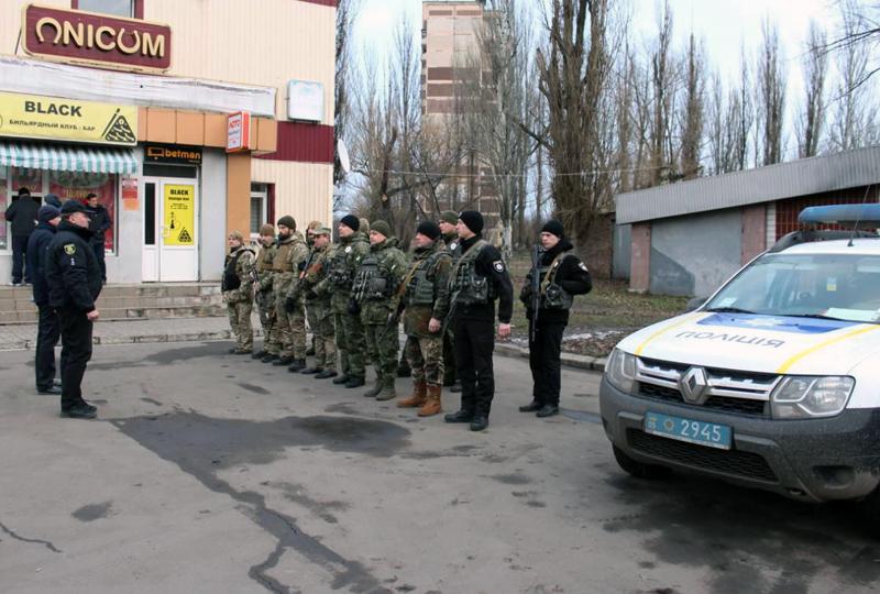 Поліцейські Добропілля, які охоронятимуть спокій громадян у вихідні, публічно заступили на службу, фото-10