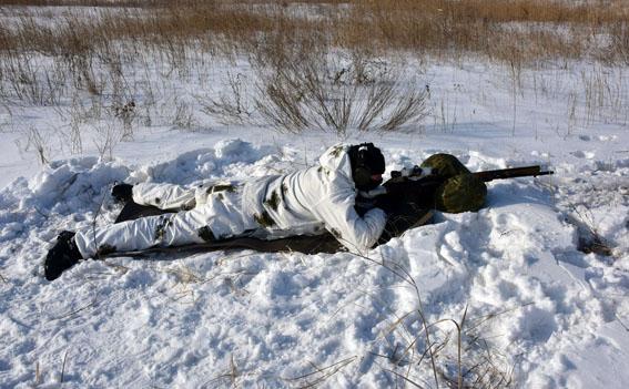 Співробітники превентивної поліції Донеччини пройшли тренування від спецпідрозділу КОРД на полігоні, фото-11