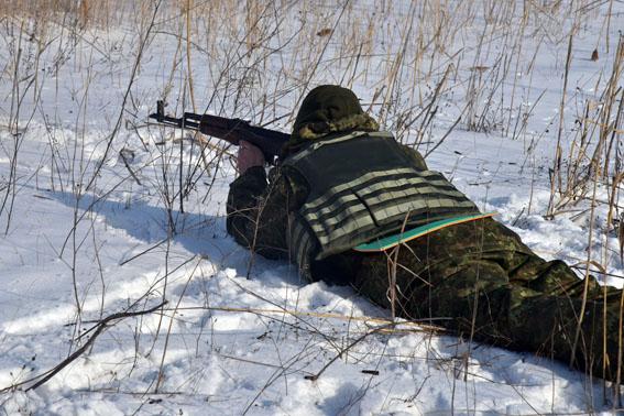 Співробітники превентивної поліції Донеччини пройшли тренування від спецпідрозділу КОРД на полігоні, фото-5