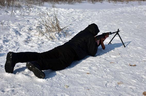 Співробітники превентивної поліції Донеччини пройшли тренування від спецпідрозділу КОРД на полігоні, фото-7