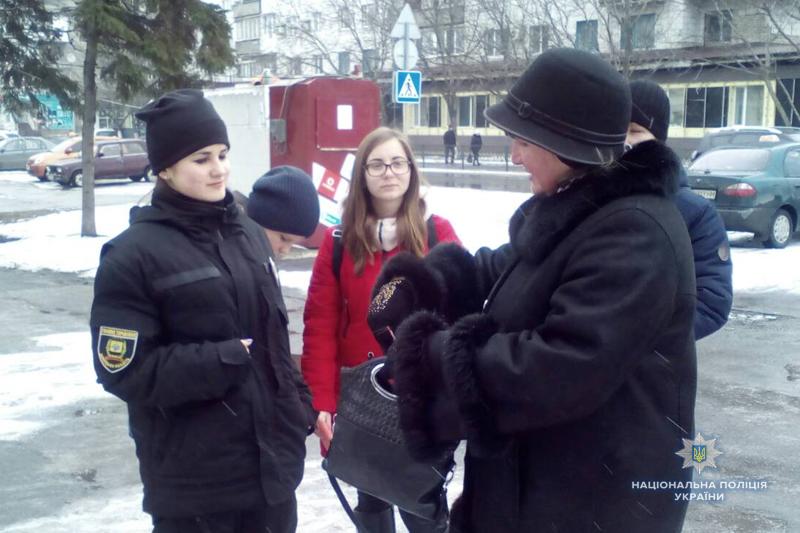 «Майбутні поліцейські» попереджали мешканців Покровська про небезпечні шахрайські схеми, фото-2