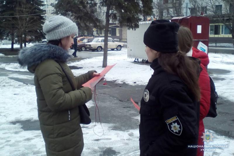 «Майбутні поліцейські» попереджали мешканців Покровська про небезпечні шахрайські схеми, фото-3