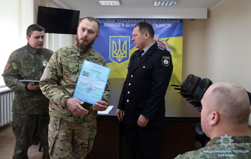 В кінологічному центрі поліції Донеччини відбувся перший випуск сертифікованих «детективів» (ВІДЕО), фото-13