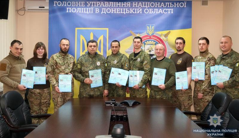 В кінологічному центрі поліції Донеччини відбувся перший випуск сертифікованих «детективів» (ВІДЕО), фото-16