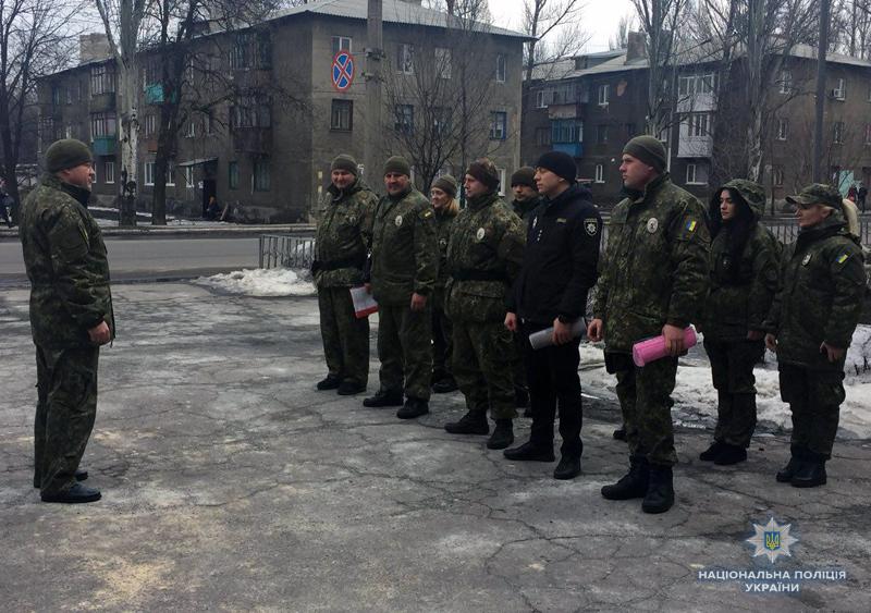 Поліцейські Добропілля, які охоронятимуть спокій громадян у вихідні, публічно заступили на службу, фото-5