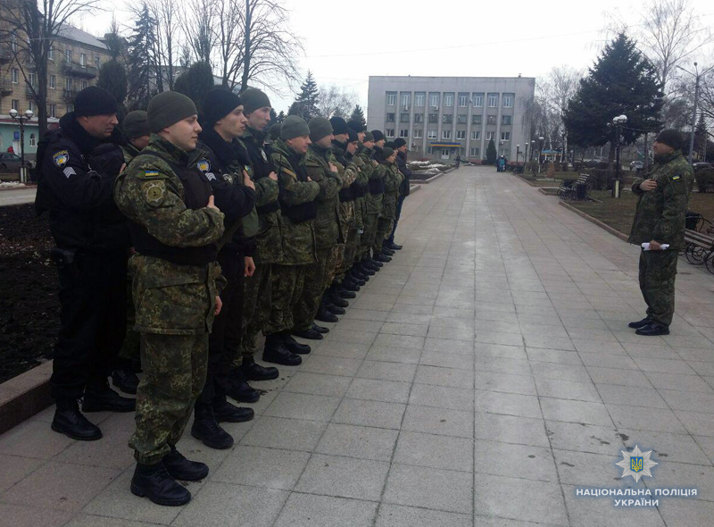 Поліцейські Добропілля, які охоронятимуть спокій громадян у вихідні, публічно заступили на службу, фото-3