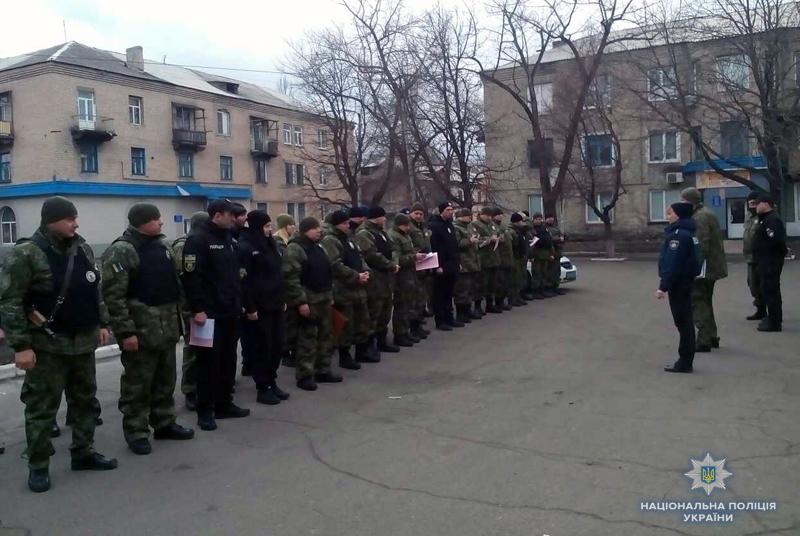 Поліцейські Добропілля, які охоронятимуть спокій громадян у вихідні, публічно заступили на службу, фото-9