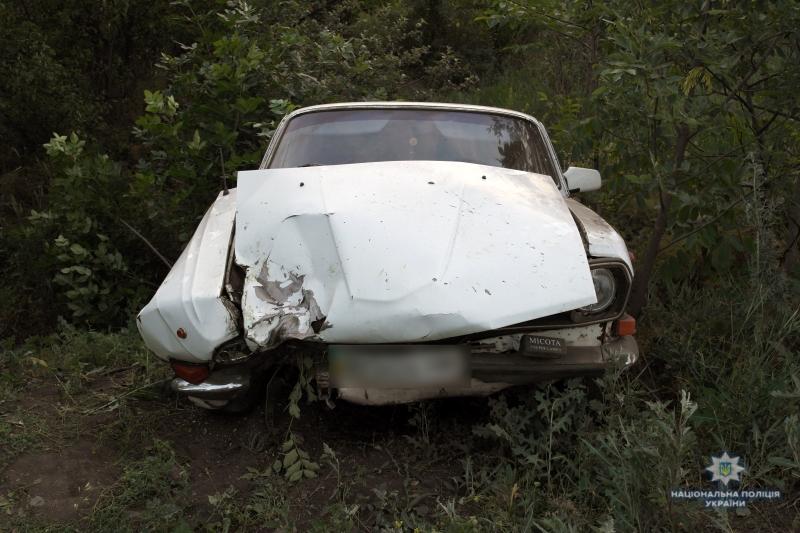 У Селидовому молодик, угнавши автівку, потрапив у ДТП, фото-1