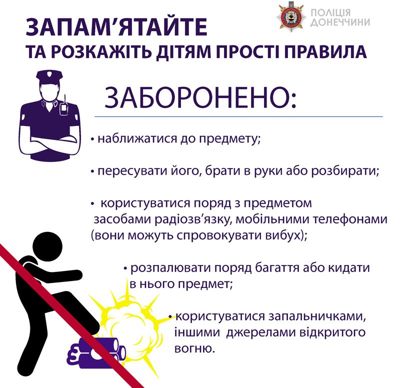 До уваги батьків та дітей! Як вберегтися від вибухонебезпечних предметів, фото-4