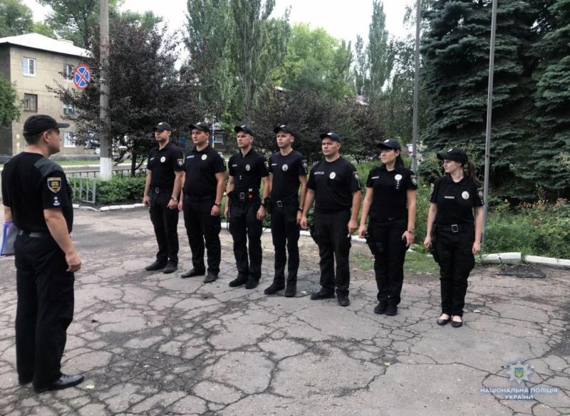 Вулиці  Добропілля під посиленою увагою поліції, фото-4