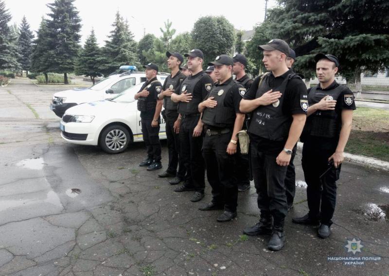 Вулиці  Добропілля під посиленою увагою поліції, фото-6