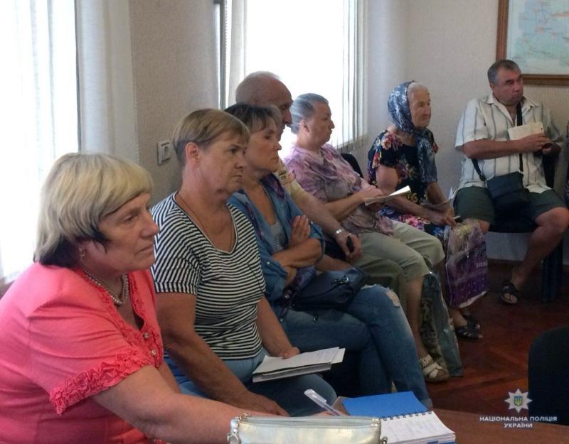 Керівництво Добропільської поліції провело спільну нараду із представниками ОСББ для обговорення подальшої співпраці, фото-4