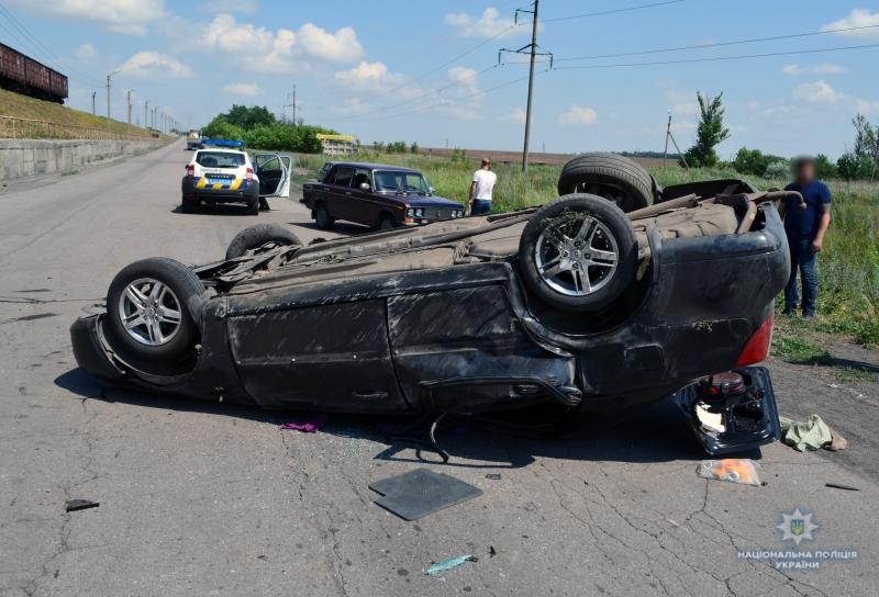 У Покровському районі в результаті ДТП загинув чоловік, ще четверо отримали тілесні ушкодження, фото-1