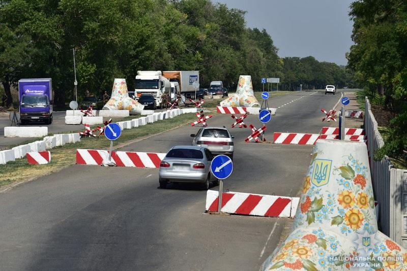 Результат роботи блокпостів в системі ООС: за сім місяців поліцейські Донеччини припинили майже 1800 правопорушень, фото-3