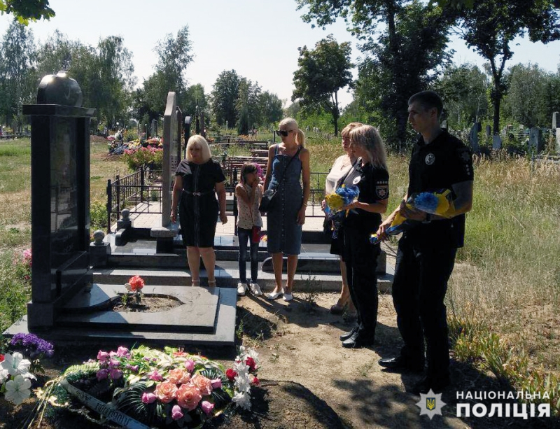 У Покровському відділі поліції вшанували пам'ять загиблих колег, фото-5
