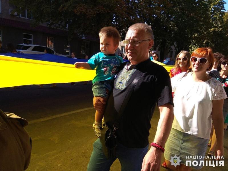 З нагоди Дня Державного Прапору України в Покровську відбулась урочиста хода, фото-4