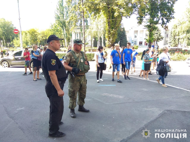 З нагоди Дня Державного Прапору України в Покровську відбулась урочиста хода, фото-10