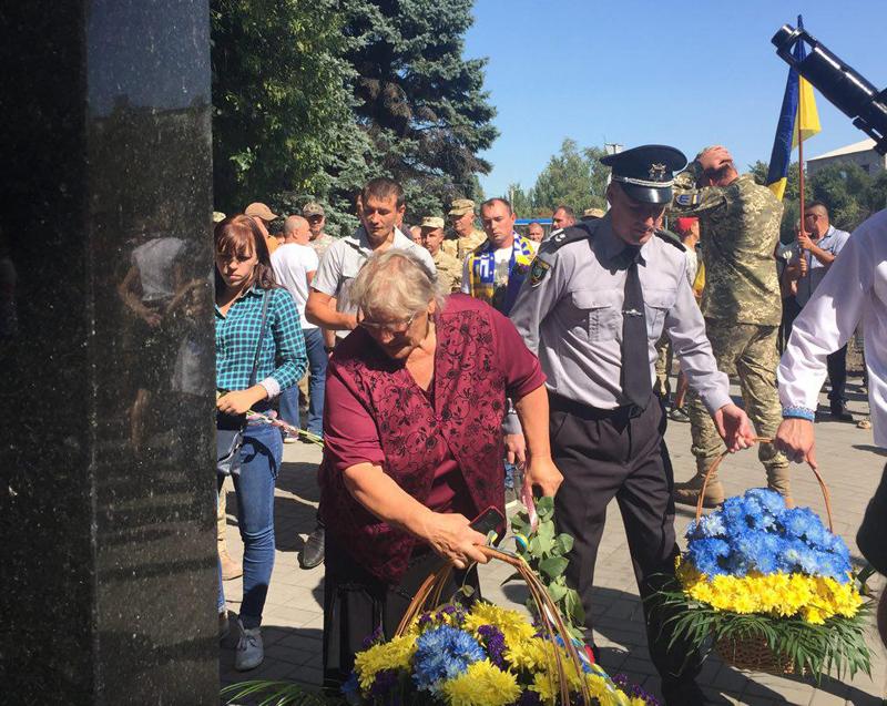 Як у Покровську відзначили 27-ї річницю незалежності України, фото-13