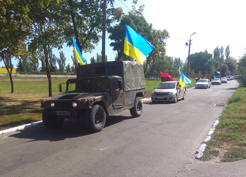 Як у Покровську відзначили 27-ї річницю незалежності України, фото-9
