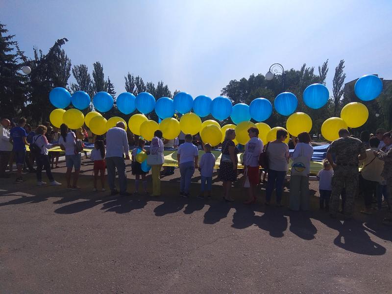 Як у Покровську відзначили 27-ї річницю незалежності України, фото-5