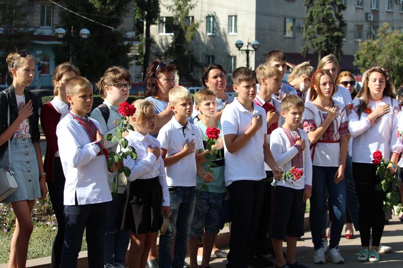 Як у Покровську відзначили 27-ї річницю незалежності України, фото-1