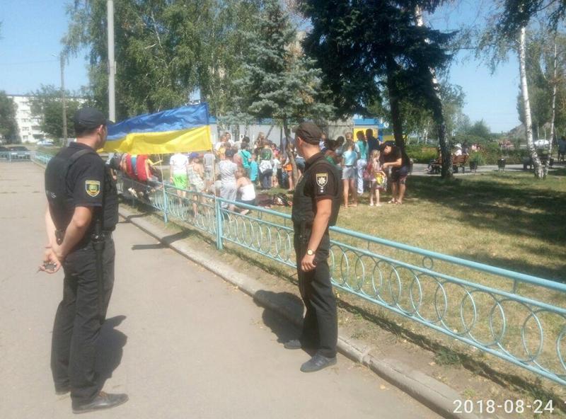 Як у Покровську відзначили 27-ї річницю незалежності України, фото-15