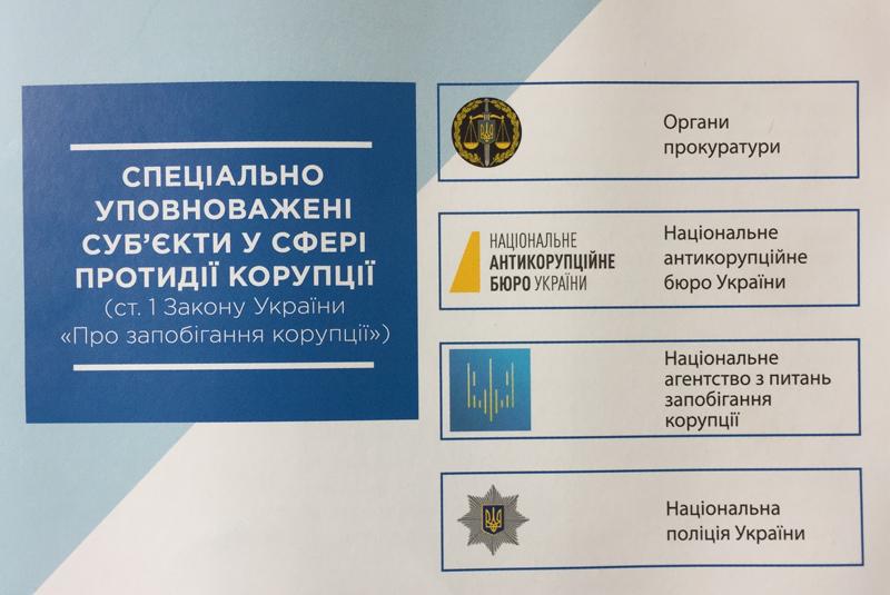 Поліція інформує покровчан як діяти громадянам у разі наявності інформації про вчинення корупційного діяння, фото-1