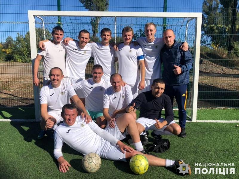 Покровські правоохоронці третій рік поспіль стають переможцями турніру «Ліга силовиків» з міні-футболу, фото-2