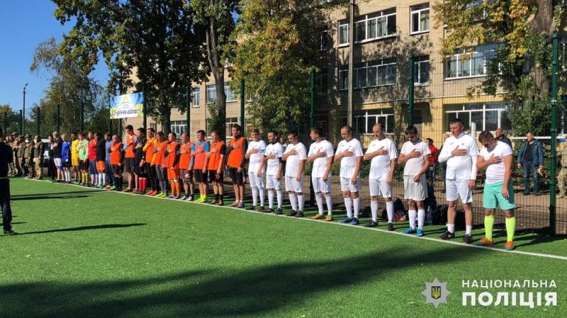 Покровські правоохоронці третій рік поспіль стають переможцями турніру «Ліга силовиків» з міні-футболу, фото-1