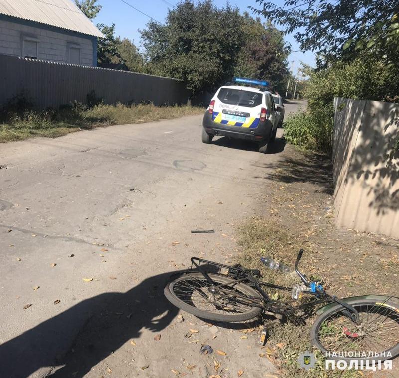 В Покровске произошло ДТП: в результате происшествия пострадал велосипедист, фото-1