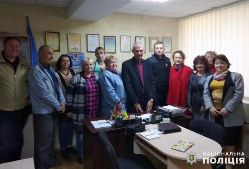 Начальник поліції Мирнограду провів робочу зустріч із представниками Координаційного комітету самоорганізації населення міста, фото-3