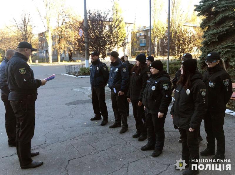 На выходных безопасность граждан под надежной защитой сотрудников полиции Покровска и Мирнограда, фото-5
